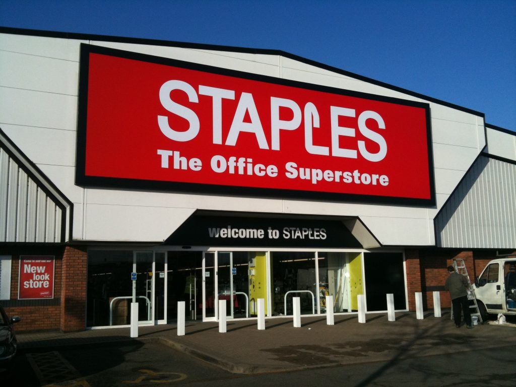 STAPLES THE OFFICE SUPERSTORE